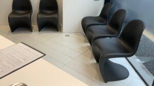 サンキューデンタルクリニックの待合室